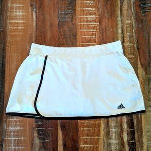 Adidas Tennis Golf Skirt Shorts White Size L